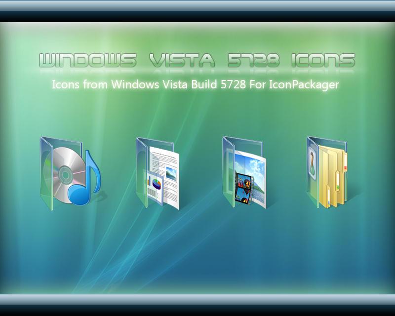 Windows Vista 5728 Icons by sreeejith