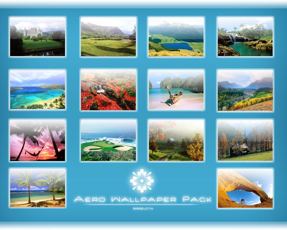 Aero Wallpaper Pack v13 by sreeejith
