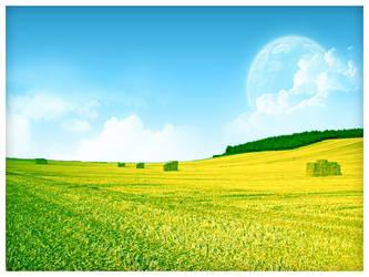Green Harvest by sreeejith