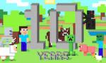 Minecraft 10 Years by Drekinn77