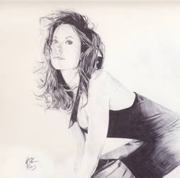 Olivia Wilde Sketch