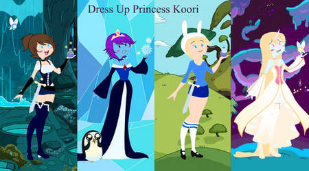 Dress Up Princess Koori Ver. 2 by SaraSapphire89
