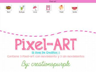 Pack de Pixel-ART by CreationsPurple