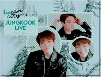 PNG PACK: Jungkook live 1610 by BusanCity