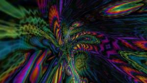 trippy psychedelic 3d fractal morph 01 f