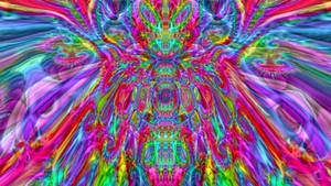 trippy psychedelic 3d fractal morph 01 p