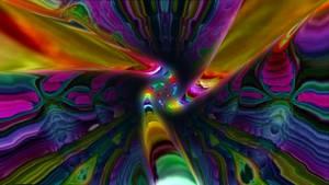 trippy psychedelic 3d fractal morph 01 r