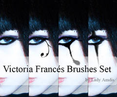 Victoria Frances Brushes Set by LadyAmdis