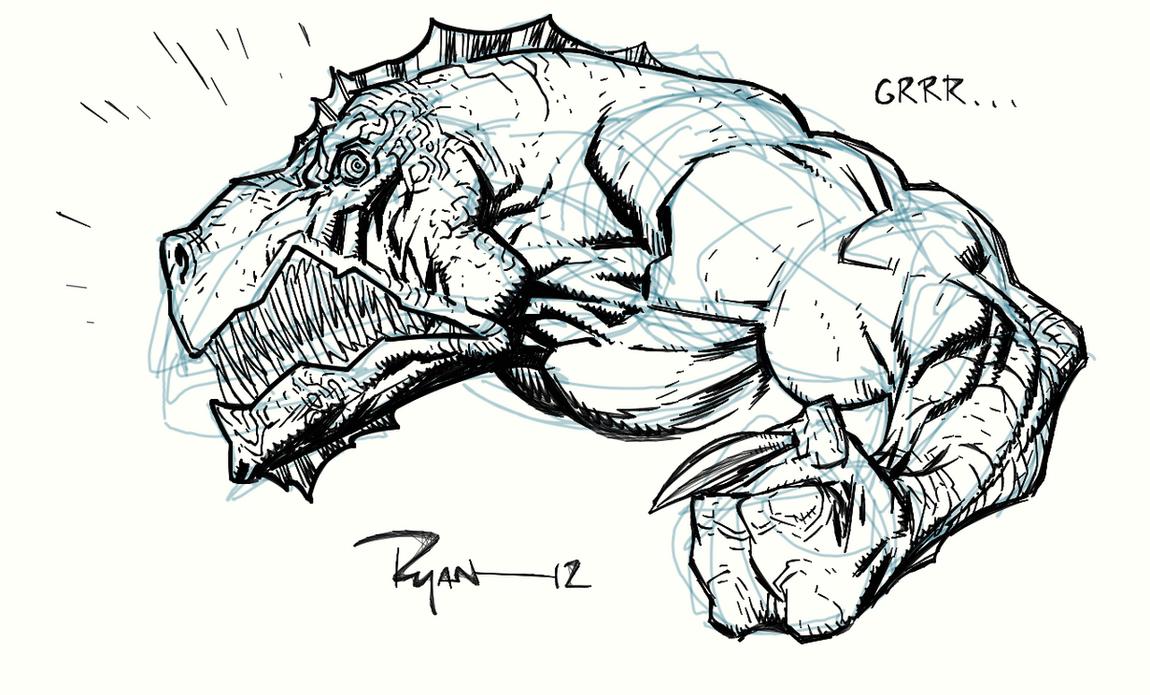 Video, watch me draw Dinosaurus by RyanOttley