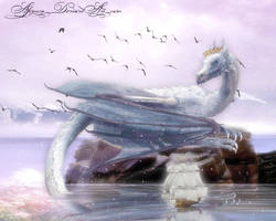 Ice Dragon Queen by Alimera