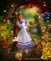 Alice's magical world by Alimera
