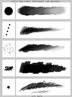 Lee's Non-fancy PS brush set