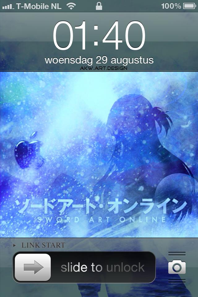 Iphone 4 Sword Art Online Asuna By Akw Design