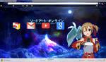 Google Chrome Sword Art Online Silica