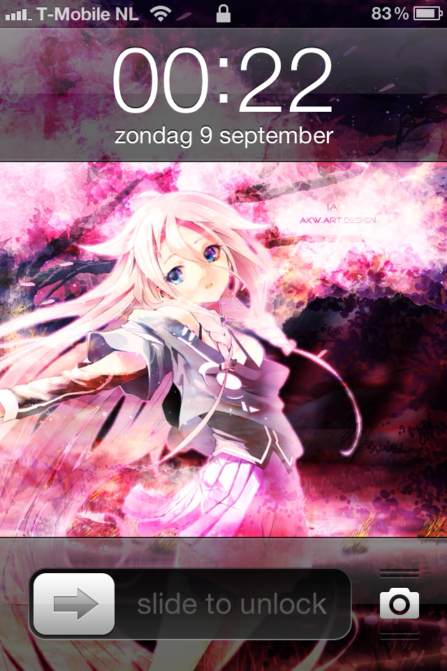 Iphone 4 Vocaloid IA - ARIA ON THE PLANETES by Akw-Art-Design