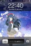 Iphone 4 Love Live! Umi Sonoda