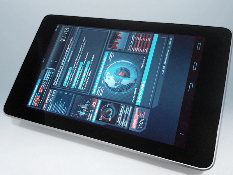 Preview] Ironman - JARVIS OS for Android by theNBT on DeviantArt