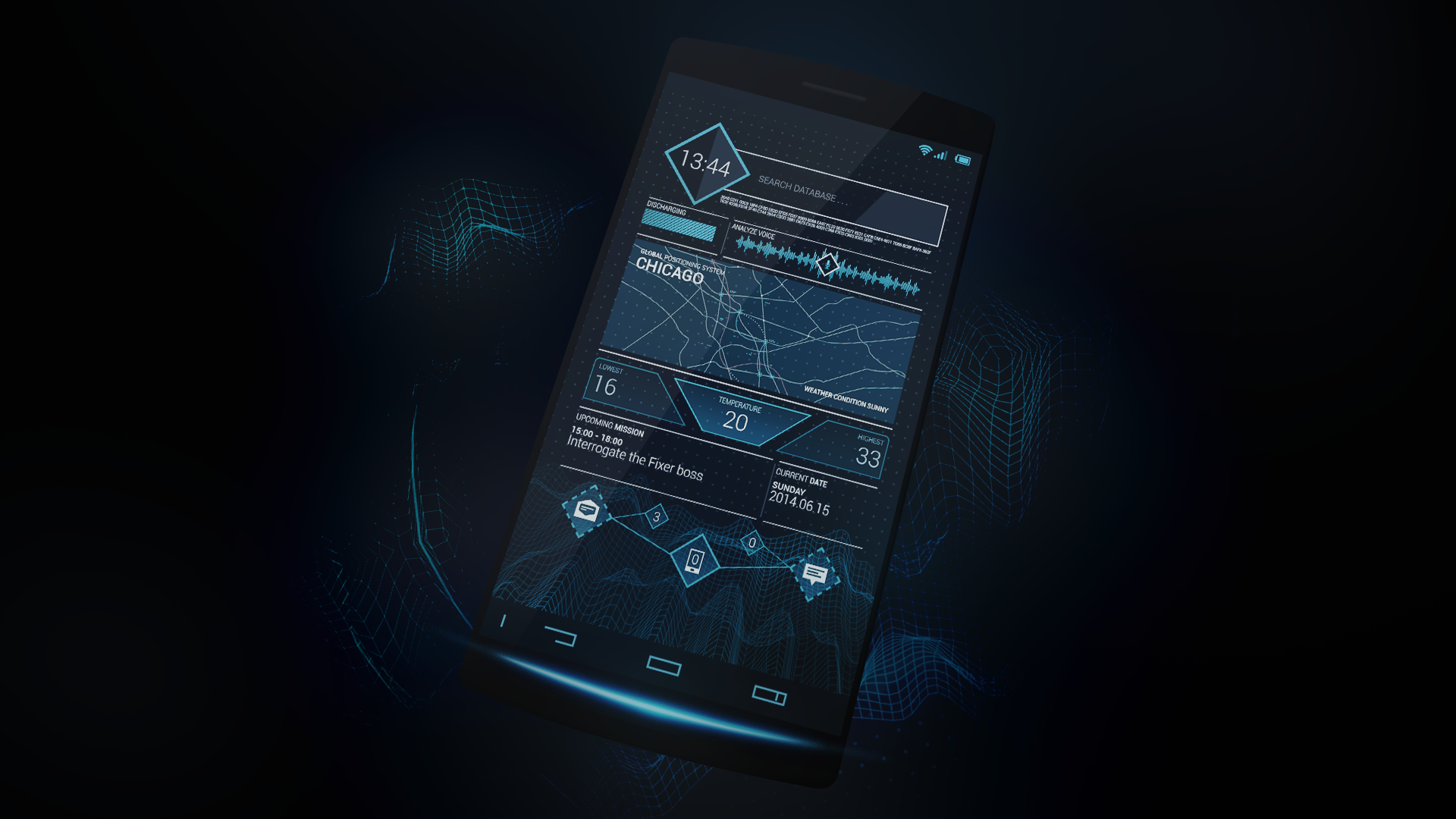 WATCH_DOGS Future ctOS - Theme (Android)