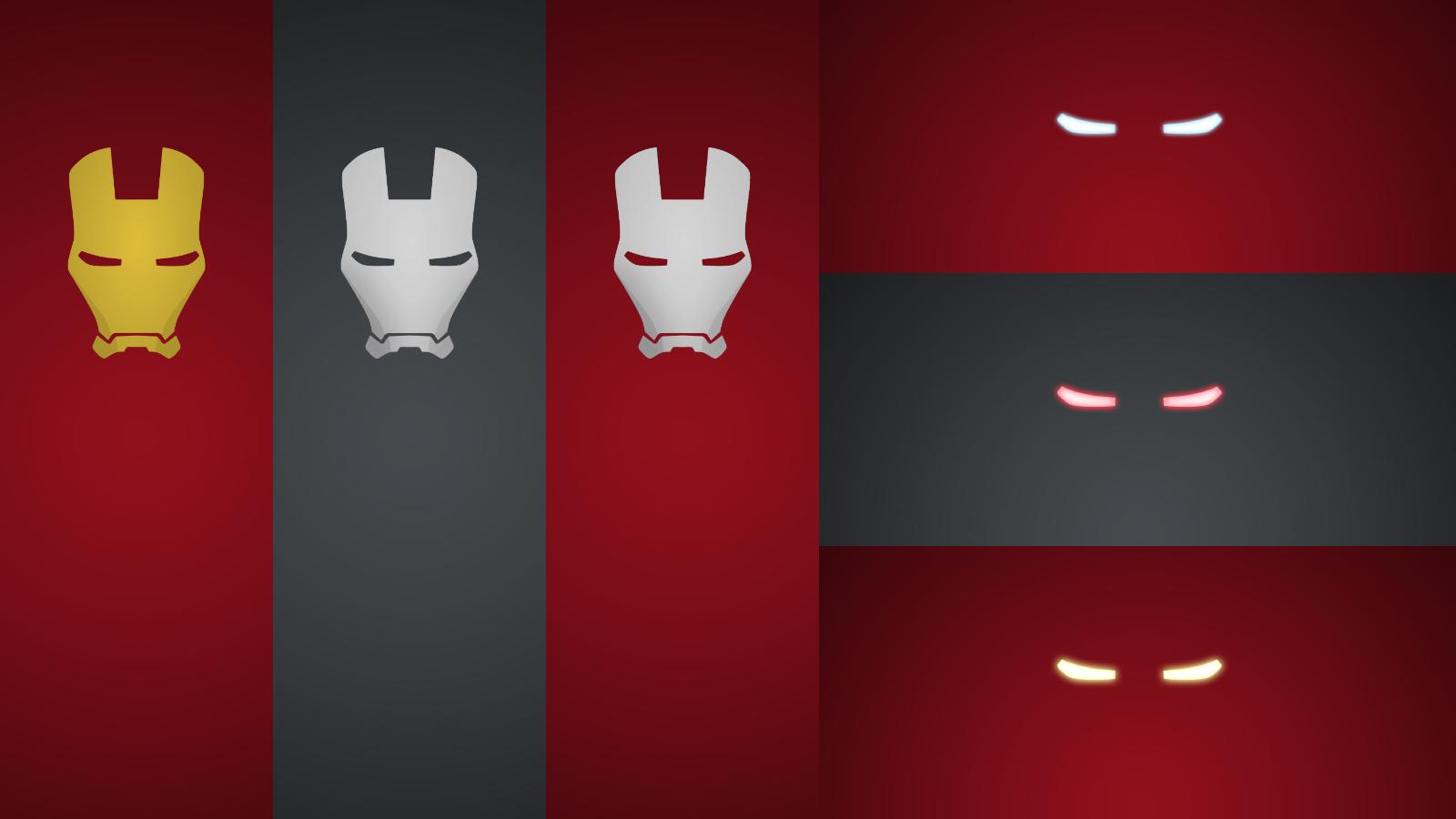 Minimalism iron man hd wallpaper free high definition for A minimalist