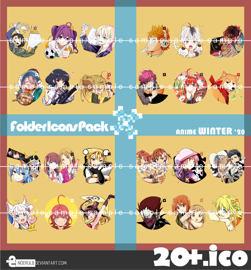 Folder Icon Pack (Winter 2020)