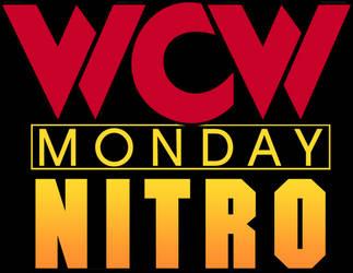 WCW Monday Nitro Logo by dxinite