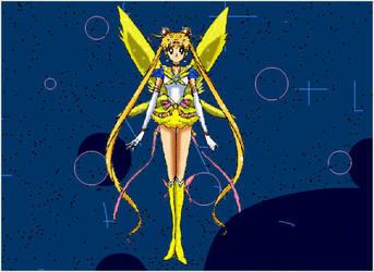 Sailor Moon 2018 Selenit Saturn Season 1 Anime Tv