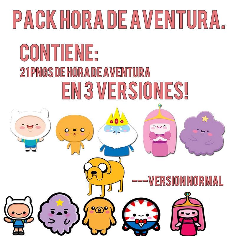 Pack PNG Hora de aventura. by iGoodbyeBreakingBad
