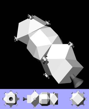 Aquila Mk I spacecraft