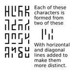 4x4 glyphs