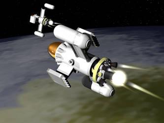 Diomedea light space bomber