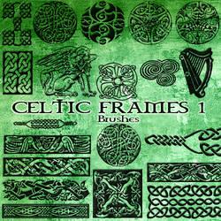 Celtic frames brushes