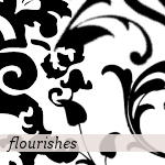Flourish Brushes by crazycordy
