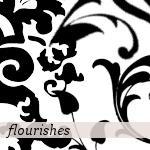 Flourish Brushes by crazycordy