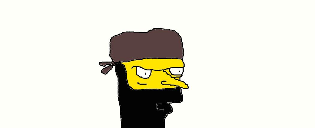 Mr. Burns Ninja by Simpsonsfanatic33
