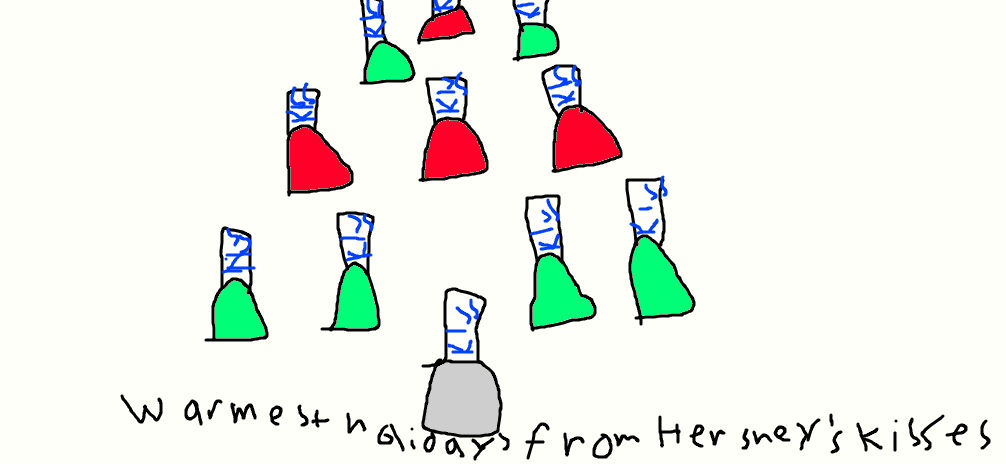 Hershey Kisses Christmas Commercial.Hershey S Kisses Christmas Commercial By Simpsonsfanatic33