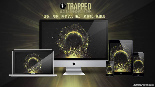 TRAPPED WALLPAPER PACKAGE