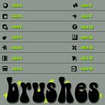 Rivella Retro Brushes