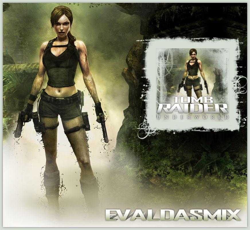 Tomb Raider Underworld Wallpaper: Tomb Raider: Underworld Icon By Evaldasmix On DeviantArt