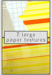 7 large paper textures