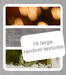 19 large random textures