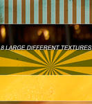 8 large different textures