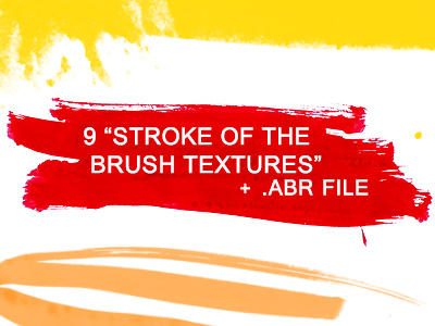 stroke of the brush textures by Kiho-chan