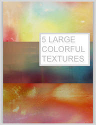 5 large colorful textures by Kiho-chan