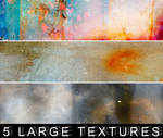 5 large textures.