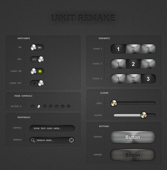 iPhone UIKits light remake