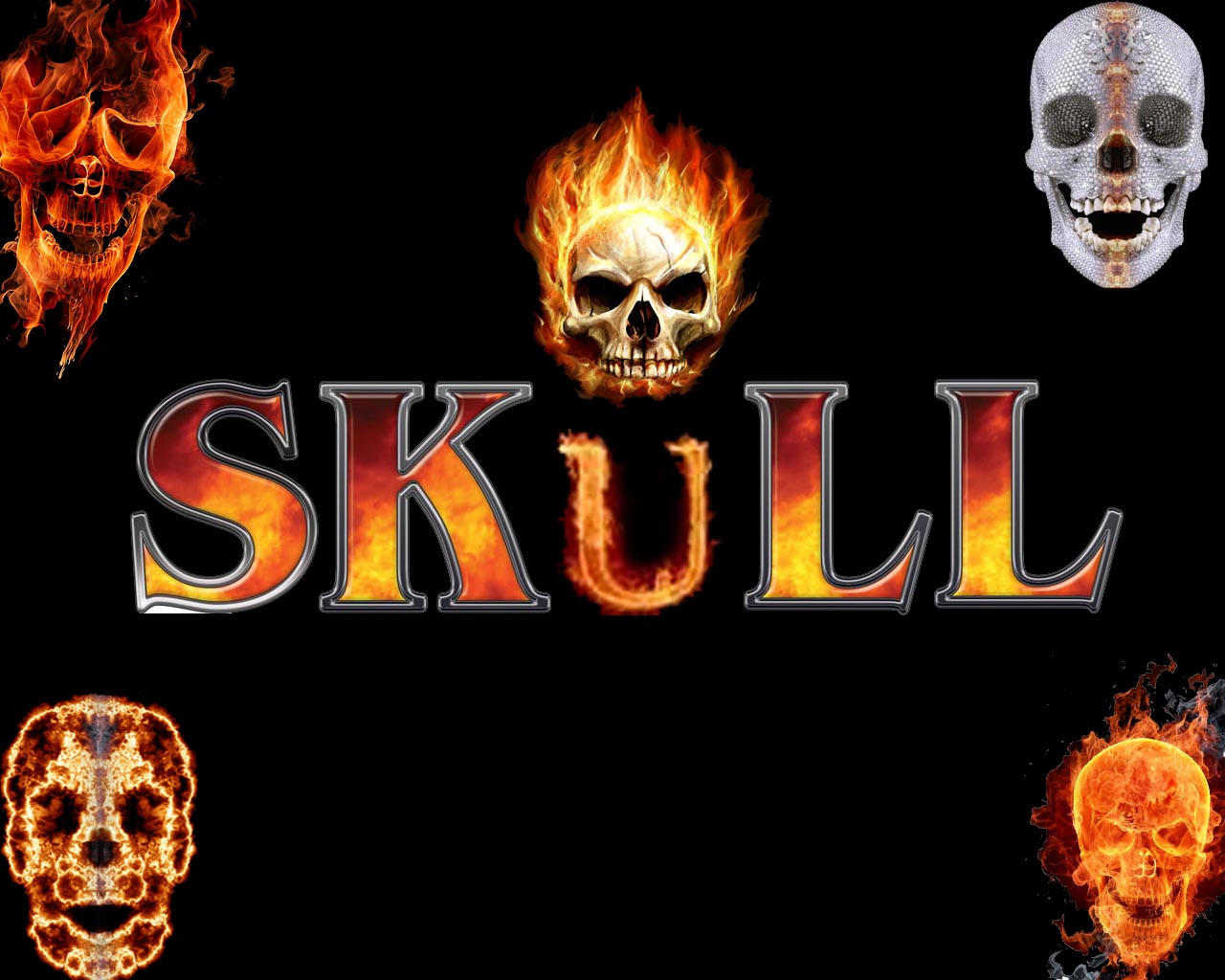 Fire Fire Skull,s By Skeleton132 On DeviantArt