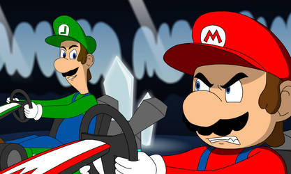 Mario Kart Ultimate Racing - Crystal Caves by hummerh14
