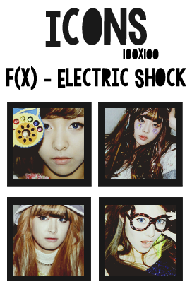 Icons: f(x) - Electric Shock by mayradias