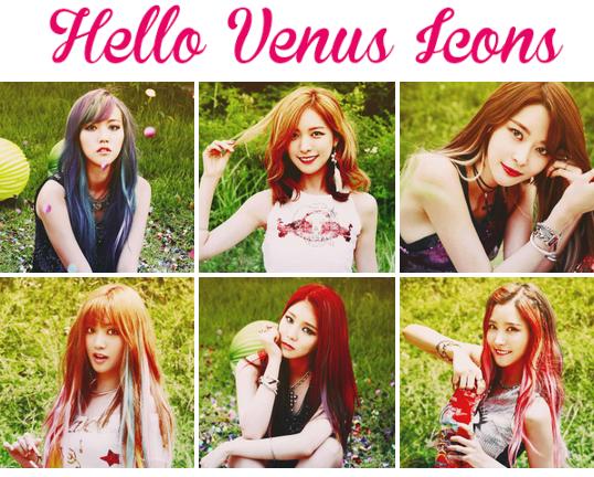 Hello Venus Icons by mayradias