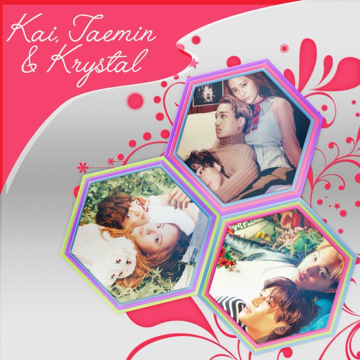 Kai, Taemin and Krystal Photopack by mayradias